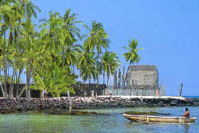 Place of Refuge-Pu'Uhonua O Honaunau
